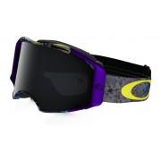 Oakley Airbrake Mx - Skull Pipe Blue w/DarkGrey - Ski & Snowboard Goggles
