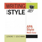 Writing with Style by Lenore Szuchman