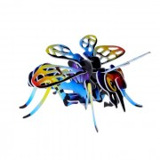 DIY 3D Puzzle Insect Bee Toy - Red + Blue + Yellow