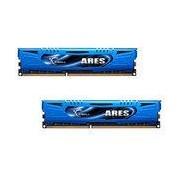 G.Skill Ares Blue Series 16 Go (2 x 8 Go) DDR3 2133 MHz CL10 - Kit Dual Channel DDR3 PC3-17000 - F3-2133C10D-16GAB (garantie à vie par G.Skill)