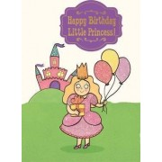 Little Princess - Happy Birthday Card-Book by Claire Murray