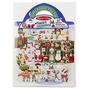 Melissa & Doug Puffy Stickers Santas Workshop Toy