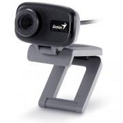 Genius Facecam 321 Webcam, VGA/Mic/Mf, USB 2.0, 8 Mp, Nero/Grigio