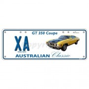 """Novelty Number Plate (Flat) - Xa Gt350 Coupe"""