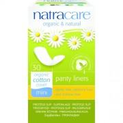 Absorbante bio Natracare - Mini/breathable pentru folosit in fiecare zi, 30 buc