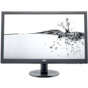 Monitor LED AOC E2260SWDA, 21.5'', 5ms, Negru