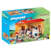 PLAYMOBIL Take Along Horse Stable Playset