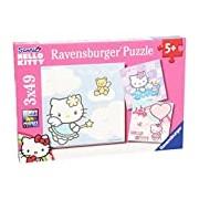 Ravensburger Hello Kitty 3 X 49pc Jigsaw Puzzle