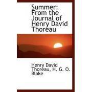 Summer by H G O Blake Henry David Thoreau