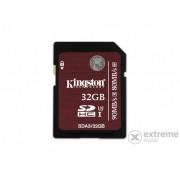 Card memorie Kingston SDHC kártya 32GB UHS-I Class 3