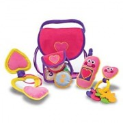 Melissa & Doug Pretty Purse Fill and Spill Soft Play Set Toddler Toy
