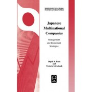 Japanese Multinational Companies by D.R. Basu