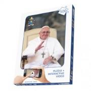 European Television Service 51008 - Papa Francesco Puzzle 500 Interattivo