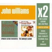 John Williams - x2 ( The Baroque Album / Spanish Guitar F (0886975259922) (2 CD)