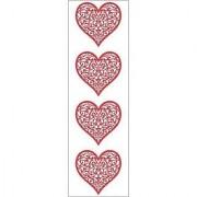 Mrs. GrossmanS Stickers-Brocade Heart