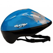 Blauwe fietshelm voor kinderen