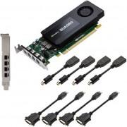 Placa VIdeo PNY Quadro K1200 pentru DVI, 4GB, GDDR5, 128 bit