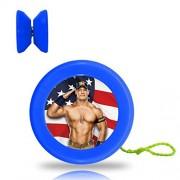New Style WWE John Cena YoYo Ball Professional Responsive Yo-Yo Bearing Spinning Ball String Spin Toys-Blue