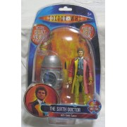Doctor Who Classic Series The Sixth Doctor Action Figure with Sonic Lance and Collect and Build K1 Giant Robot Part by Character Options Ltd.
