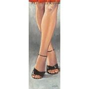 "Eurographics SEG1085 Stampa artistica ""Black High Heels"" di Steff Green, 25x70 cm"