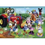 Clementoni - 24435.5 - Puzzle Super Color - 24 pièces - Mickey Mouse