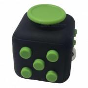 6-Sided Cube Dice dedo juguete - Negro + Verde