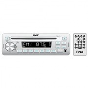 Pyle Stereo Radio Headunit Receiver CD Player USB/MP3 Reader Aux (3.5mm) Input AM/FM Radio Single DIN (PLCD3MR)