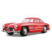 Bburago - 12047r - Véhicule Miniature - Modèle À L'échelle - Mercedes 300 Sl Coupé - 1954 - Echelle 1/18 - Coloris aléatoire