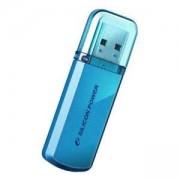 Флаш памет Silicon Power Helios 8GB USB 2.0 Цвят Син SLP-USB-GBUF2101-8GB