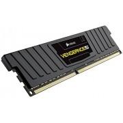 Corsair CML4GX3M1C1600C9 Vengeance LP Kit di Memoria da 4 GB, 1x4 GB DDR3L Low Voltage, 1600 MHz, CL9 XMP Performance, Nero