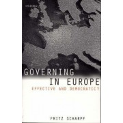Governing in Europe by Fritz W. Scharpf