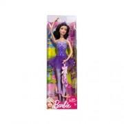 Barbie Ballerina Doll Purple Dress [Toy]