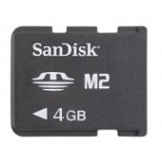 Memoria Flash Sony Memory Stick Micro (MS), 4GB