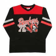 AFL Toddler Script Long sleeve Tee Essendon Bombers [Size:2]