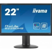 Monitor LED 21.5 Iiyama ProLite B2280HS-B1DP Full HD 2ms GTG Negru