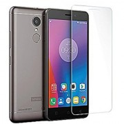 FIRST MART Lenovo K6 Note Tempered Glass Screen Protector (Transperent)