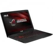 Лаптоп Asus GL552VW-CN211D, Intel Core i7-6700HQ (up to 3.5GHz, 6MB), 15.6 инча FullHD IPS (1920x1080) AG, Web Cam, 8192MB - 90NB09I1-M03560
