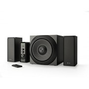 Thonet & Vander - RATSEL BLUETOOTH - Wooden Bookshelf Speakers 2.1+1 - German Engineering & Design