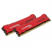 Memorie Kingston HyperX Savage Red 8GB DDR3 2400 MHz CL11 Dual Channel Kit