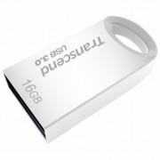 USB DRIVE, 16GB, Transcend JETFLASH 710, USB3.0, Silver Plating (TS16GJF710S)