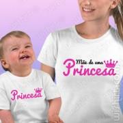T-shirts Mãe de uma Princesa - Bebé