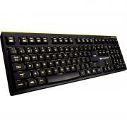 Tastatura Cougar 300K Iluminata LED Galben USB Black