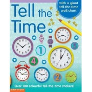 Tell the Time Sticker Book by Chez Picthall
