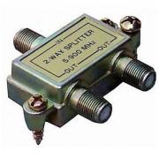 Morris 45030 2 Way Splitters with Ground Block 5-900 MHz