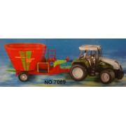 Műanyag Traktor szett No.7089 - Gyerek játék