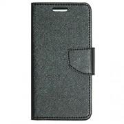 Zaoma Diary Type Flip Cover for PANASONIC P55 NOVO 4G - BLACK
