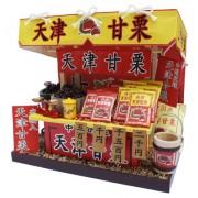 Kit kit de casa de mu?ecas hecha a mano Billy stand Tianjin casta?a 8422 (Jap?n importaci?n / El paquete y el manual est?n escritos en japon?s)