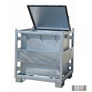 HUL-1257 800 literes festett veszélyes hulladéktároló (KS 800)