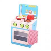 Santoys Set Cucina e forno (Blu)