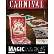 Carnival Trick Cards - Magic Tricks By Magic Makers - Video Learning Included